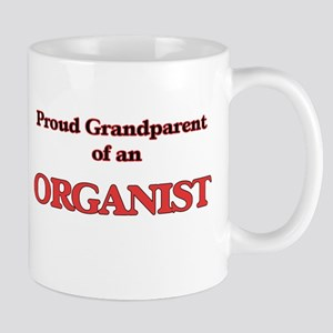 Proud Grandparent of a Organist Mugs