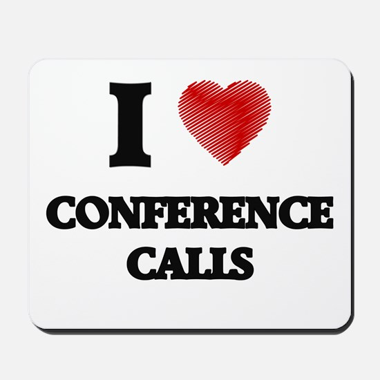 conference call Mousepad