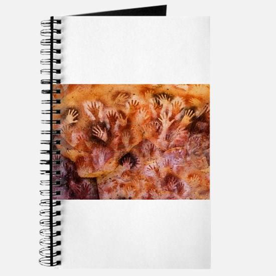Prehistoric Cave Painting of Human Hands Journal