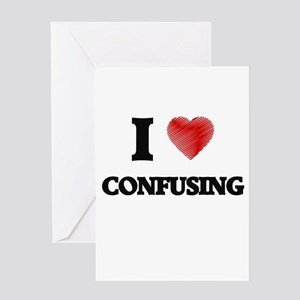 confuse Greeting Cards