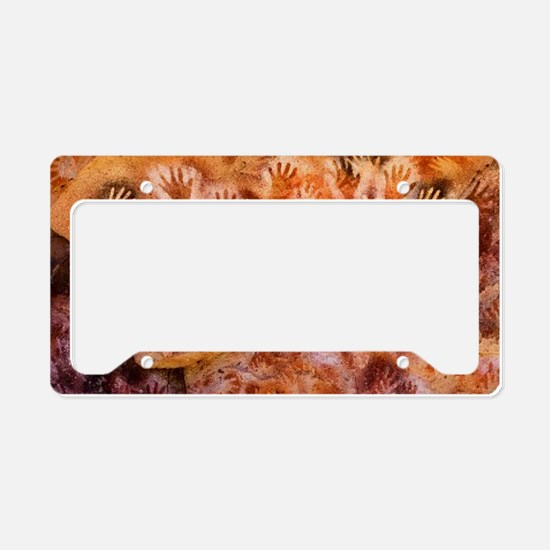 Prehistoric Cave Painting of License Plate Holder