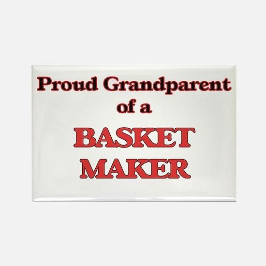Proud Grandparent of a Basket Maker Magnets