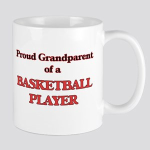 Proud Grandparent of a Basketball Player Mugs