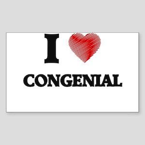 congenial Sticker
