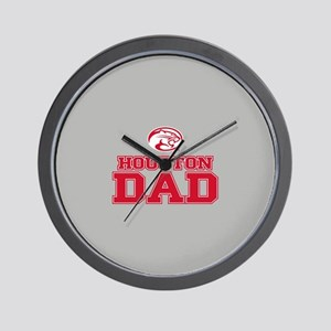 Houston Cougars Wall Clock