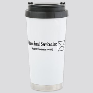 Clinton Email Stainless Steel Travel Mug