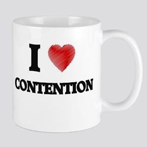 I Love CONTENTION Mugs