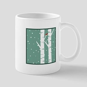 Snow Scene Mugs