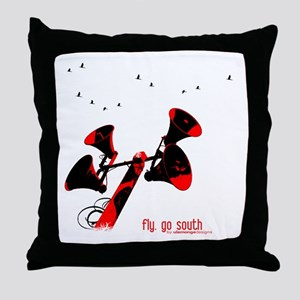 Go South | Throw Pillow