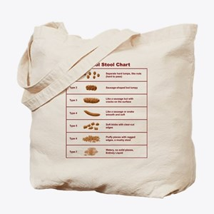 Bristol Stool Chart / Scale Tote Bag