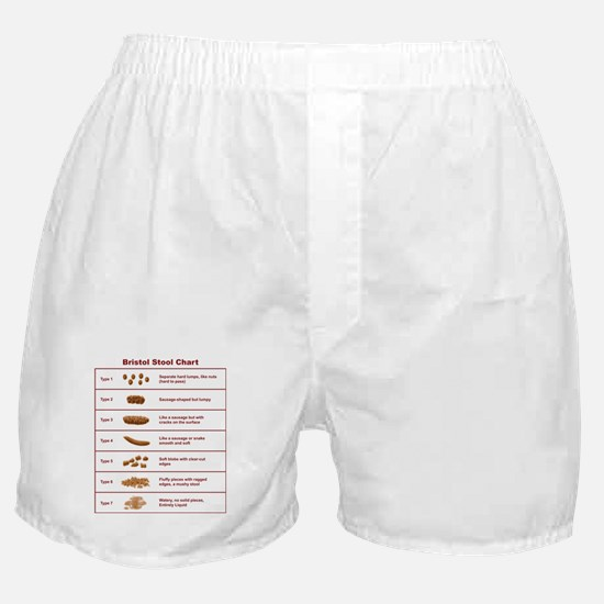 Bristol Stool Chart / Scale Boxer Shorts
