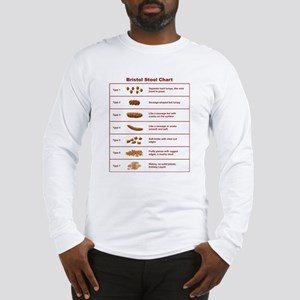 Bristol Stool Chart / Scale Long Sleeve T-Shirt