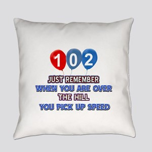 102 year old designs Everyday Pillow