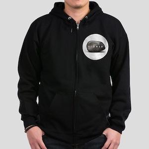 STONED Zip Hoodie (dark)