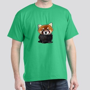 KiniArt Red Panda Dark T-Shirt