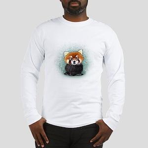 KiniArt Red Panda Long Sleeve T-Shirt