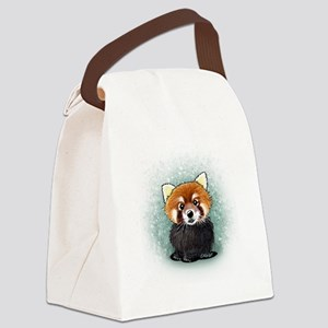KiniArt Red Panda Canvas Lunch Bag