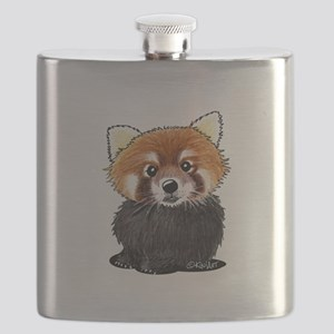 KiniArt Red Panda Flask