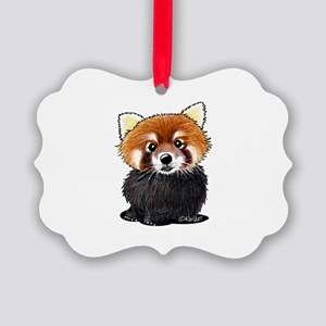 KiniArt Red Panda Picture Ornament