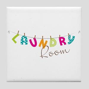 Laundry Room Tile Coaster