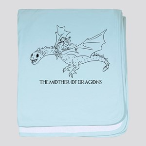 The Mother of Dragons baby blanket