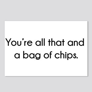 You're All That And A Bag Postcards (Package of 8)