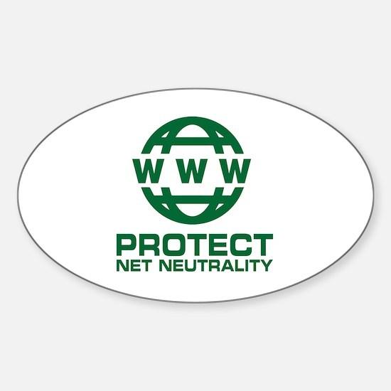 World wide web Sticker (Oval)