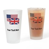 British american Drinking Glass