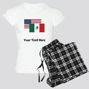American And Mexican Flag Pajamas