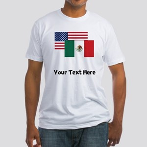 American And Mexican Flag T-Shirt