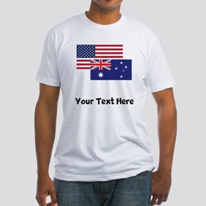 American And Australian Flag T-Shirt