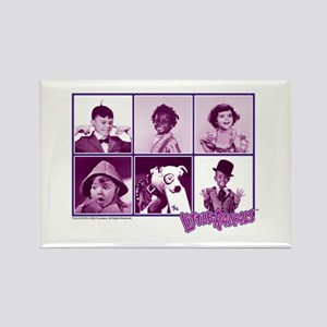 The Little Rascals Group Design Rectangle Magnet