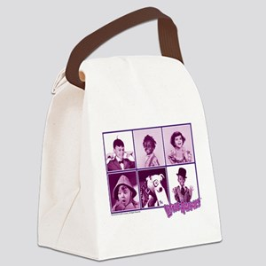 The Little Rascals Group Design Canvas Lunch Bag