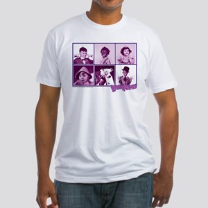 The Little Rascals Group Design Fitted T-Shirt