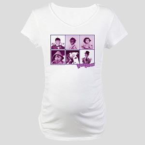 The Little Rascals Group Design Maternity T-Shirt
