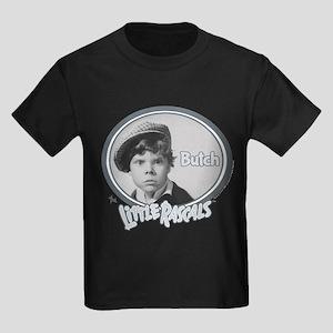The Little Rascals Butch Design Kids Dark T-Shirt