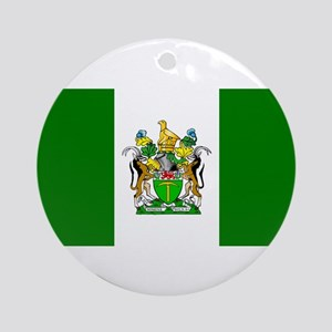 Flag of Rhodesia Round Ornament