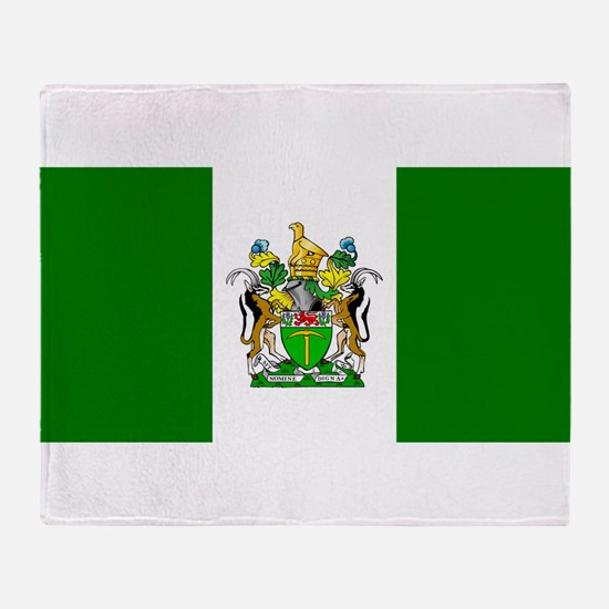 Flag of Rhodesia Throw Blanket
