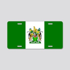Flag of Rhodesia Aluminum License Plate