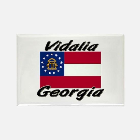 Vidalia Georgia Rectangle Magnet