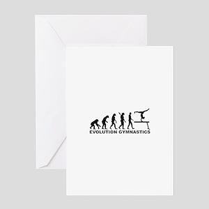 Evolution gymnastics Greeting Card