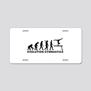 Evolution gymnastics Aluminum License Plate