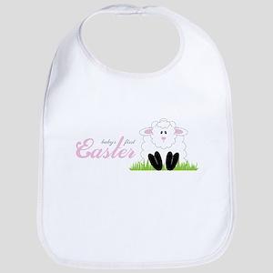 First Easter Lamb Bib