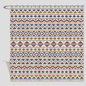 Aztec Essence (ii) Brgc Shower Curtain