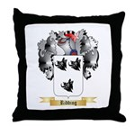 Ridding Throw Pillow