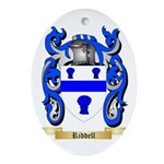 Riddell Oval Ornament