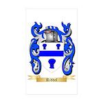Riddel Sticker (Rectangle 50 pk)