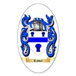 Riddel Sticker (Oval 10 pk)