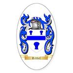 Riddel Sticker (Oval 50 pk)