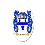 Riddel 20x12 Oval Wall Decal